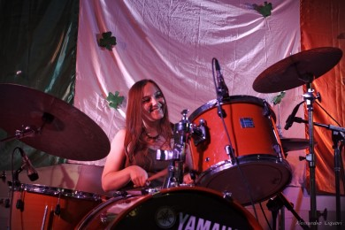 FREYA NICHISOLO: batteria / percussioni